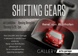 Art Exhibit - Opening Reception - Thursday 5/29 7pm - The GALLERY arts garage, Delray Beach, FL