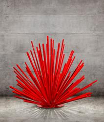 Giant Street Urchin, by Phoenix sculptor Kevin Caron