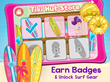 Play to win badges that unlock surf gear!