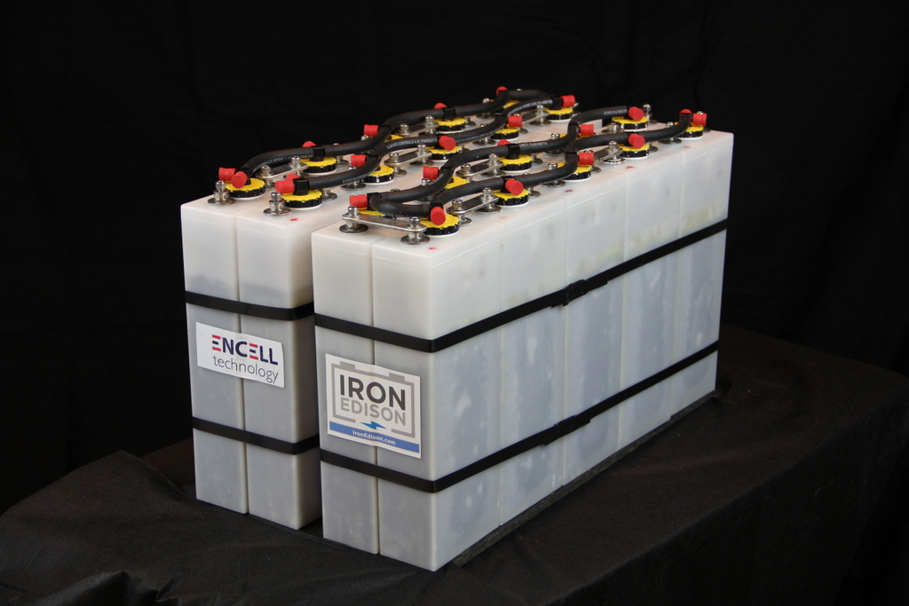 How Are Batteries Made >> Iron Edison Battery Now Offers Nickel Iron Batteries Made ...