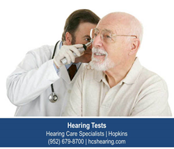 Hearing Test Hopkins MN - Hearing Care Specialists