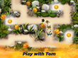 Play with Tom and the gang as they walk through Treetopolis!