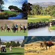 Big Horn, WY, is loaded with activities for outdoor enthusiasts such as fishing, golfing, polo and hiking. (Photos courtesy of The Powder Horn Golf Club and Sheridan Travel & Tourism)