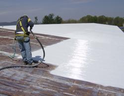 The CPR restoration coating extends the service life of existing metal roof and wall panel systems - photo