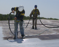 Garland Canada's CPR System waterproofs and restores metal roof and wall panel systems - photo