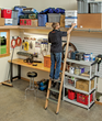 Installing A Custom Rolling Ladder Just Got Easier - New Rockler...
