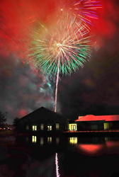 One of the biggest fireworks displays in East Texas will light up the skies over the Texas Freshwater Fisheries Center and adjacent Lake Athens on July 4 for Fireworks at the Fishery.