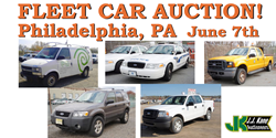 Philadelphia, PA Fleet Vehicle Auction