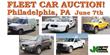 Philadelphia, PA,  Public Auction Saturday, June 7th, 2014, Selling...