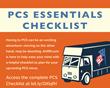 AHRN.com PCS Checklist