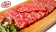 Now serving only the best USDA prime-certified beef