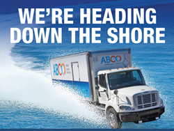 ABCO IS HEADING DOWN THE SHORE