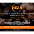 Free Sports Fitness in Central Park