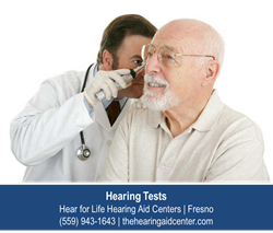 Hearing Test Fresno - Hear for Life Hearing Aid Centers