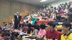 Dr Ernest Wong Speaking To SUPERTEENS
