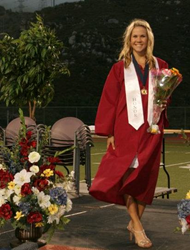 Ms. Knoll, Scholarship Recipient & Graduate