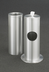 All Metal Wipe Dispensers Manufactured by Glaro Inc.