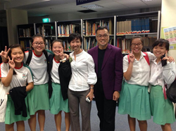 dr ernest wong with superteens