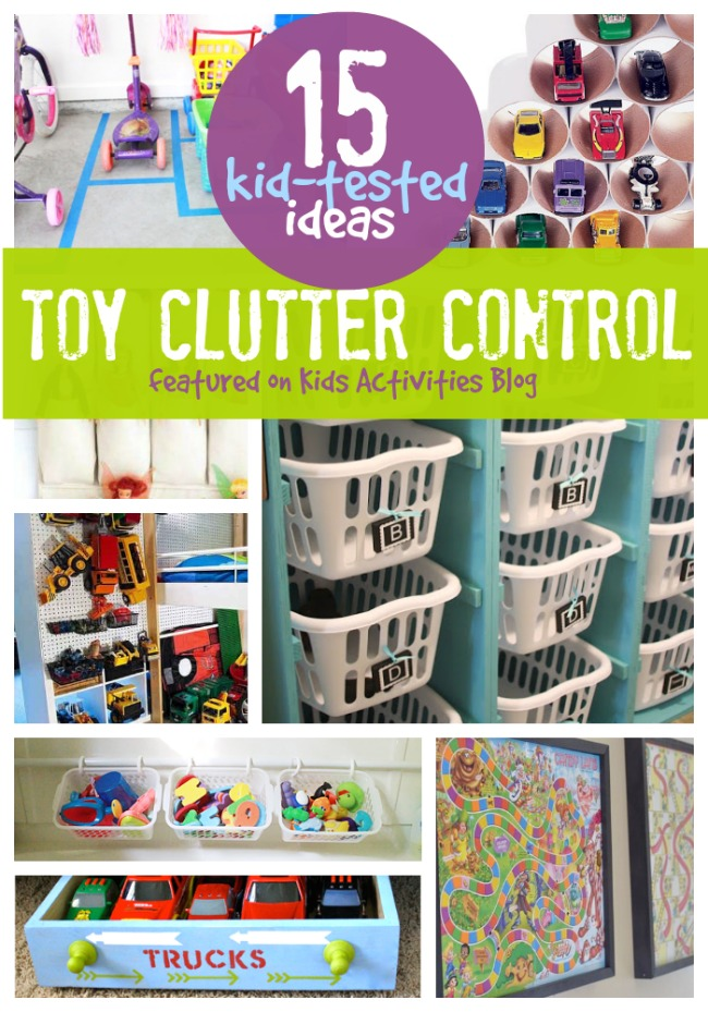 Best Bike Computer >> Kid Tested Toy Clutter Control Tips Have Been Released on Kids Activities Blog