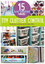 toy clutter control
