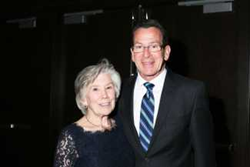 Governor Dannel Malloy with Smart Kids Executive Director Jane Ross