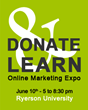 Donate & Learn Initiative Joins Forces With Enactus Ryerson University for the June 10 Donate & Learn Expo in Support Project Pathway