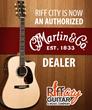 Riff City Guitar and Music Company Named Martin Guitar Dealer