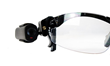 Vidcie Lookout cameras can clip onto eye glasses or sunglasses for easy, non-obtrusive wear and video capture