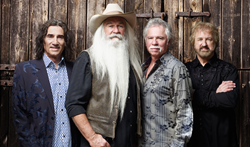 The Oak Ridge Boys will perform June 13th at Shipshewana's Famous Blue Gate Theater
