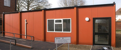 Modular classroom for Skinners School in Kent, supplied by Danzer