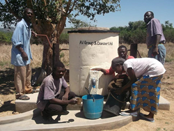 Water pump Africa Trust AV Group Danzer