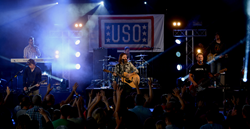 THIRD DAY USO concert