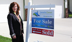 Samantha Clement from Real Estate Okotoks.