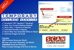 Scan Mailboxes Launches the First Temporary Scanned Mailbox Service
