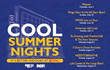 Fifth Annual Cool Summer Nights at DPAC Featuring Eight Can't-Miss Events This June Through August