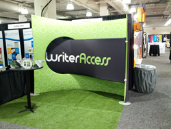WriterAccess Booth at HOW Design Live