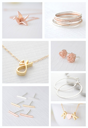Create your own jewelry for free at Olive Yew's Etsy 2014 Craft Party.