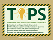 Tips to Ensure a Safe, Gluten Free Dining Experience - Infographic