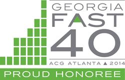 Georgia FAST 40 Award 2014