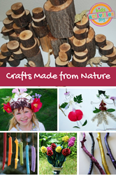 crafts made from nature