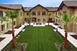 Brightwater Senior Living of Highland Interior Courtyard View