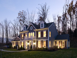 A Model Home at Woodbury Junction
