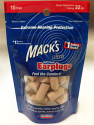 Mack's® Ultra Soft Foam Ear Plugs in Stand-Up Pouch