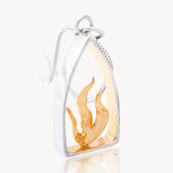 Celtic pendant, Celtic Spirit pendant, Celtic flame pendant, garrett Mallon, Celtic Promise