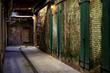 China Alley in Alcatraz prior to ChoiceDek composite decking installation