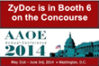 ZyDoc is in Booth 6 on the Concourse - AAOE 2014