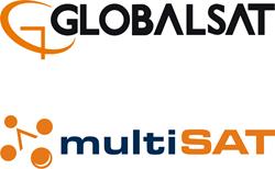 Globalsat & Multisat logos