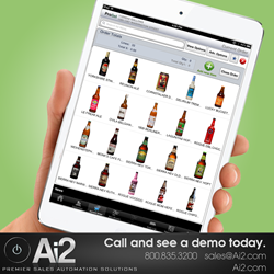 mobile sales order entry app ipad automation