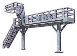 slide track gangway