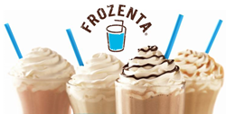 Frozenta Frozen Drink Mixes with Logo